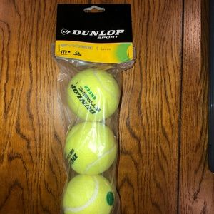 Dunlop tennis balls pack of 3 stage 1